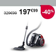 -40% : 197€99 (au lieu de 329€99)