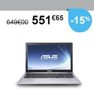 -15% : 551€65 (au lieu de 649€)
